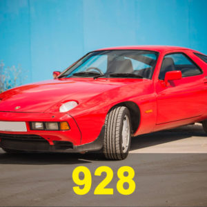 Porsche 928 S/S2/S4/GT/GTS
