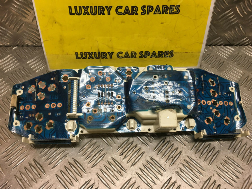 Porsche 944 Instrument Cluster Back With Printed Circuit Strip / Foil (Loc8)