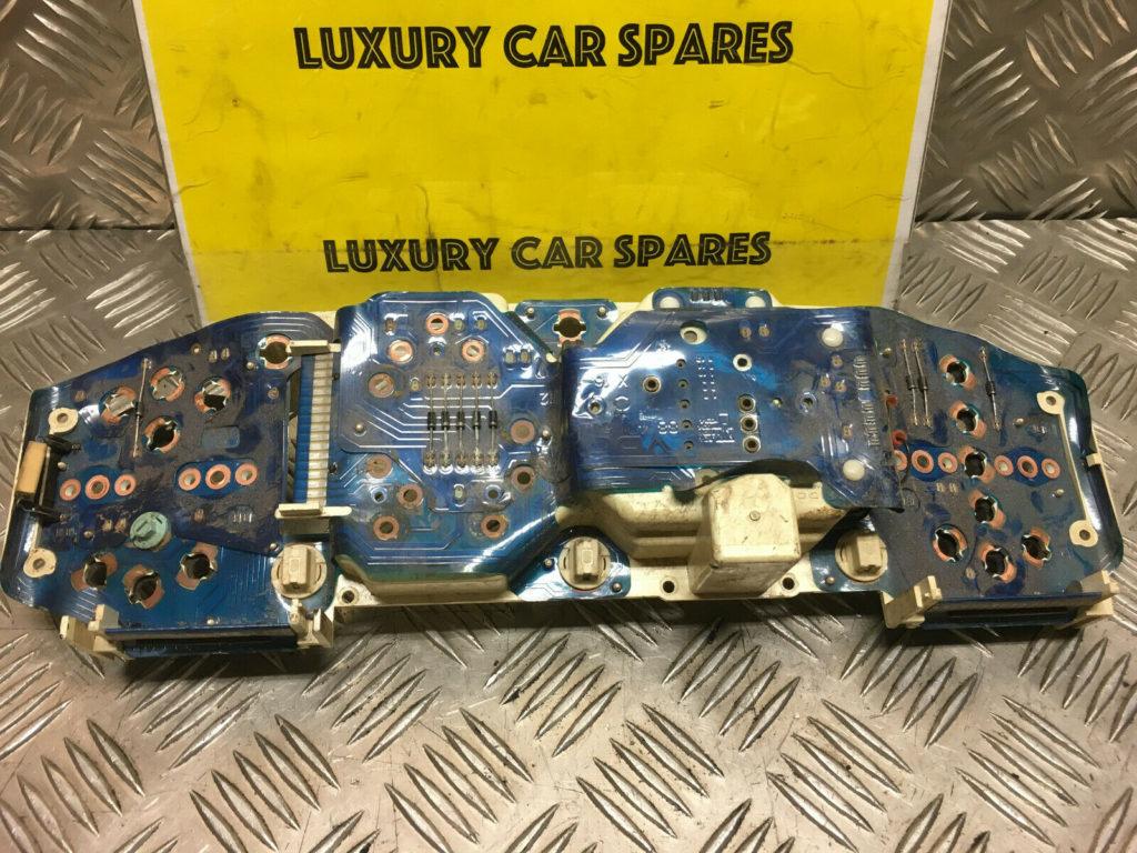 Porsche 944 Instrument Cluster Back With Printed Circuit Strip / Foil (Loc24)