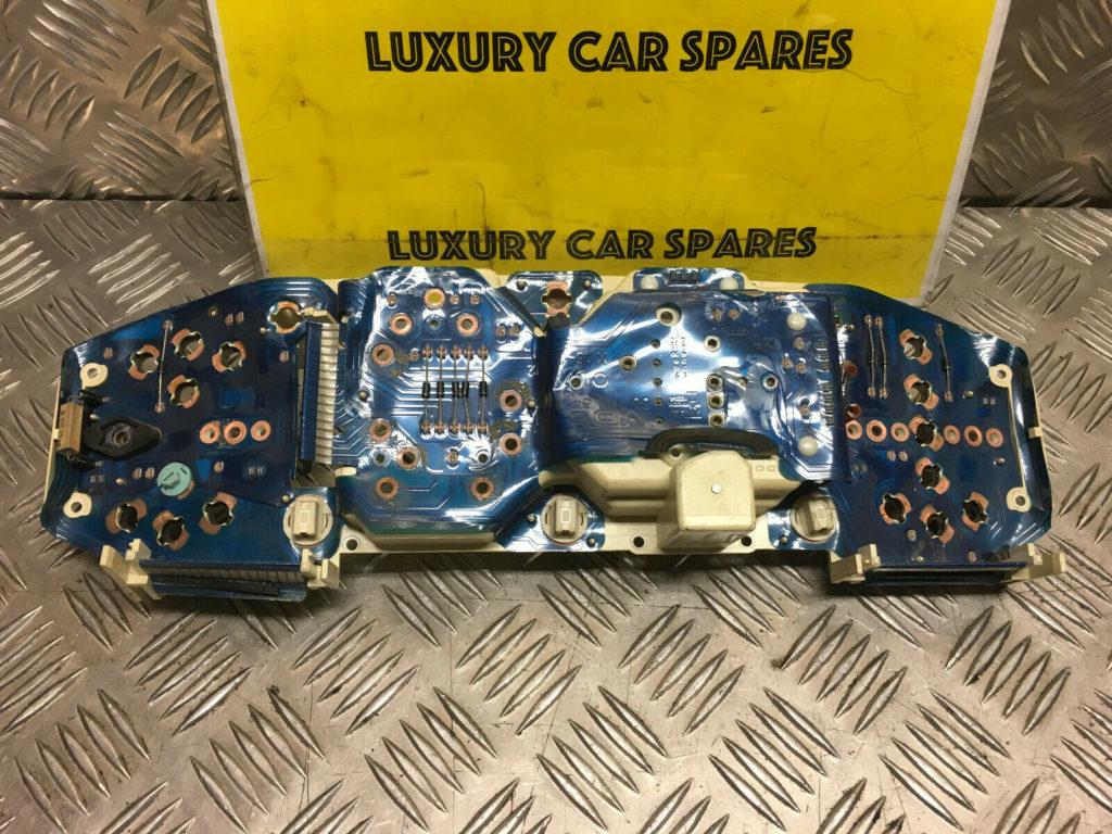 Porsche 944 Instrument Cluster Back With Printed Circuit Strip / Foil (Loc32)